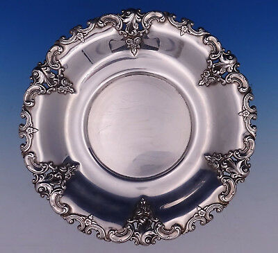"""Grande Baroque by Wallace Sterling Silver Charger Dinner Plate 10"""" #5971 (#3101)"""