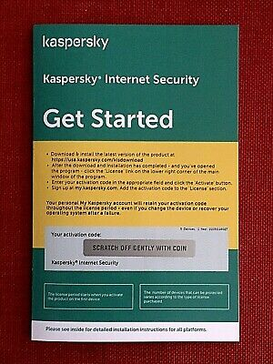 Kaspersky Internet Security 2018 Multi-Device 5 (PC, Mac, Android, iOS), 1 Year