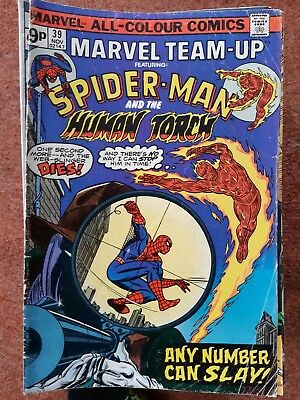 Marvel Team Up 39 - Spiderman And Human Torch