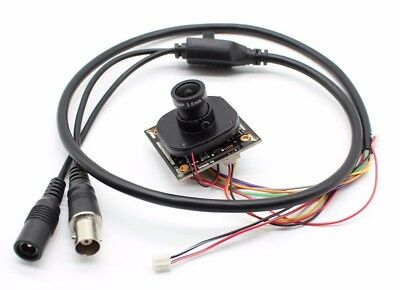 1080P 2mp SONY307 AHD 4 in 1 Starlight 0.0001Lux CCTV Camera Module +2.8mm lens