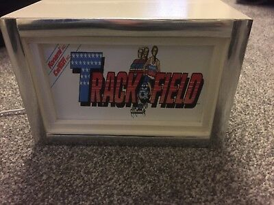 Track & Field -  Arcade Marquee Light Box Small usb ac Powered Retro