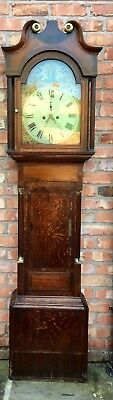 Oak And Mahogany Cross Banded Longcase/Grandfather Clock John Lloyd Brecon