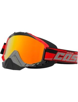 Castle Force SE Snow Goggles X2 Red