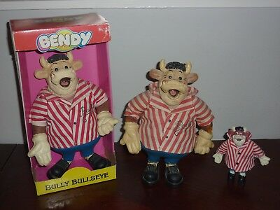 Bullseye Bendy Bully Figure Collection Jim Bowen Film- & TV-Spielzeug