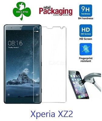 Premium Tempered Glass™ For Sony Xperia XZ2 Screen Protector Glass Guard New
