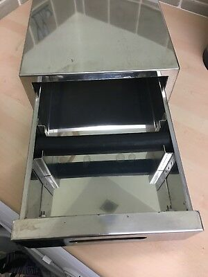 Commercial Coffee Machine Under Grinder Knock Out Box Drawer Stainless Steel