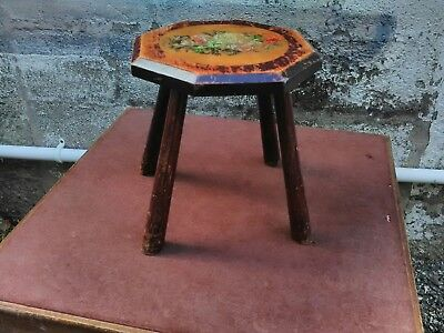 Arts And Crafts Milking Stool