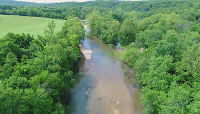 10+ acres on TROUT FISHING river in the Ozarks! Bid on Down Payment - Wow!