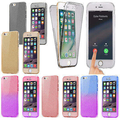 iPhone 6 Plus Case Shock Proof Hybrid Clear Soft Silicone Gel Bumper Slim Cover
