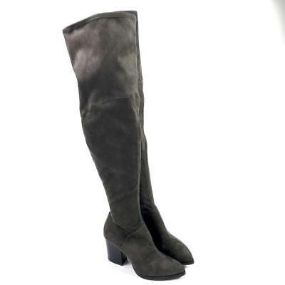 4c6de59a820 Marc Fisher Women s Gray Fabric Over the Knee Boots Size 8 Brand New