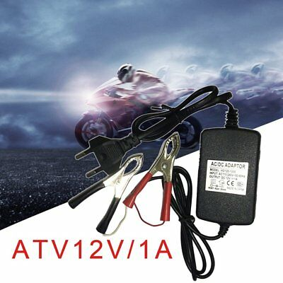 15W Auto Car Motorcycle ATV 12V/1A Multi-mode Battery Charger Tender MG