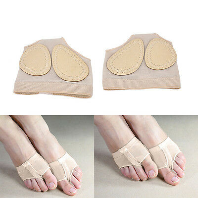 1 Pair Foot Thongs Forefoot Dance Paws Cover Toe Undies Mesh Half Lyrical Sh Hf