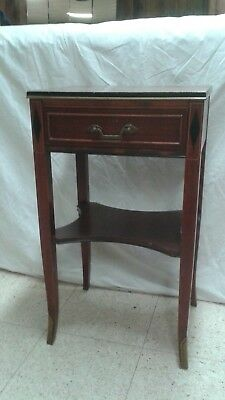 Rway Northern Furniture Co. Mahogany Sheraton Style Bedroom Night Stand or side