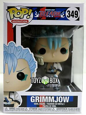 "In STOCK Funko Pop Animation Bleach ""Grimmjow"" 349 Vinyl Figure"