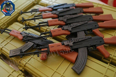 "Ak47 assault rifle Weapon Gun For 1/6 Scale12"" Action Figure 1:6 Model Toy"