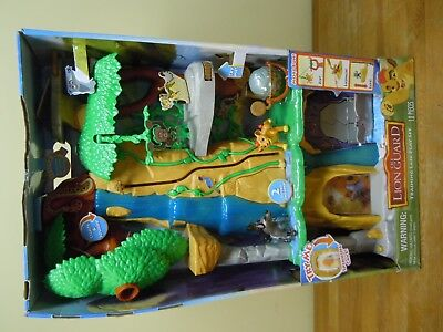 Disney Junior The Lion King Guard Training Lair Play Set [ Brand New ]