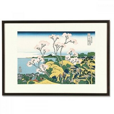 Hokusai Woodblock Print - Goten-yama-hill- 36 Views of Mt. Fuji
