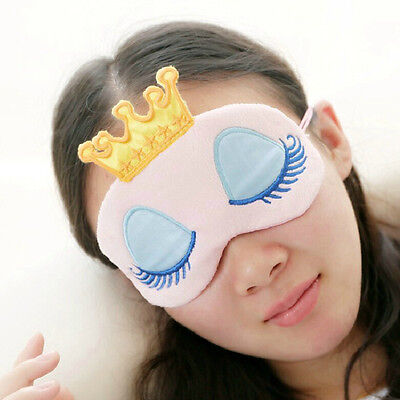 100% Pure Silk Sleeping Sleep Soft Eye Mask Blindfold Lights Out Travel Relax Fn