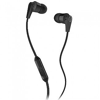 Skullcandy Ink'd 2.0 Handsfree Earbuds With In Line Mic And 3.5Mm Jack - Black