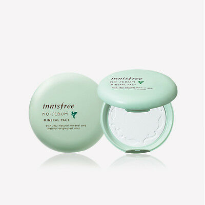 [INNISFREE] No-Sebum Mineral Pact  -  8.5g