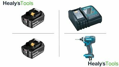 Makita DTD152Z Impact Drive, 2 x 3.0ah Batteries and Charger - Free Next Day