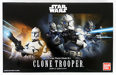 Bandai Star Wars Clone Trooper 1/12 scale kit 075745