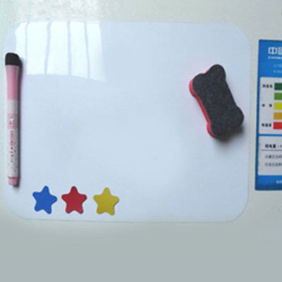 A4 Small Fridge Magnet Whiteboard Family Office Memo Message Reminder Notes AU