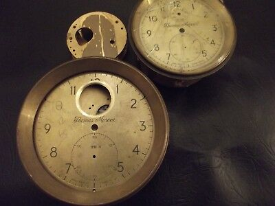 Mercer Marine Chronometer 8 Day And 2 Day Chronometers Brand New In Pieces Fusee