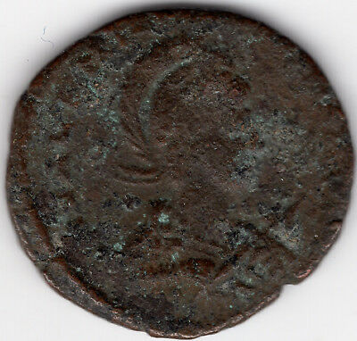ancient late Roman coin Valentinian II