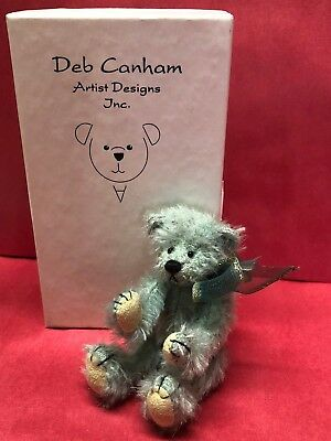 "Deb Canham ""peppermint"" - Have A Heart Collection - Mini Mohair Bear 1999 L.ed."