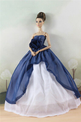 Fashion Party Dress/Wedding Clothes/Gown For 11 in. Doll d09