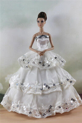 Fashion Party Dress/Wedding Clothes/Gown For 11 in. Doll d22