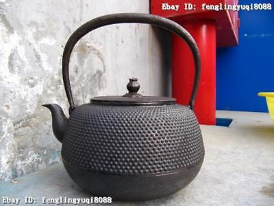 Japan Folk Japanese vintage collection Old iron Pot teapot
