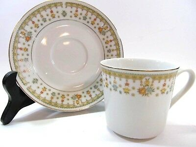 Garden Bouquet of Japan Cup and Saucer