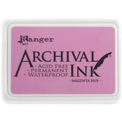 Tampon D'archivage # 0 Magenta H - Ink Ranger Archival Pad 0 Hue