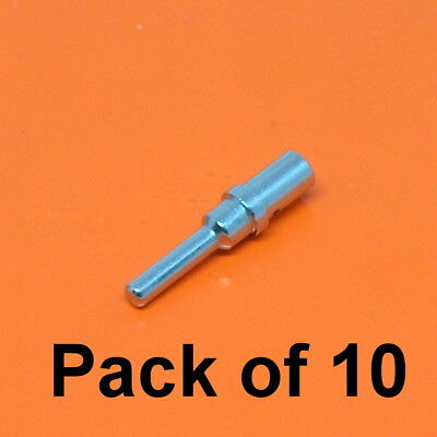 10 x Male /& 10 x Female AMP Superseal 1.5 Series Crimp Terminals For 1.5-2.5mmsq
