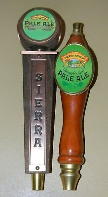Sierra Nevada Pale Ale Beer Tap Handle Knob Lot Of 2 Different