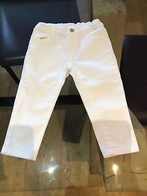 Gucci Kids White Jeand 912 Month