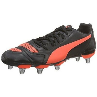 reputable site dcc01 a26f0 Puma Evopower H8 Chaussures De Rugby Noir  Rouge 10 - 42 Boots Various Size