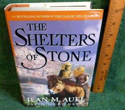 Earth's Children BOOK 5: The Shelters of Stone by JEAN M. AUEL - 1st ed