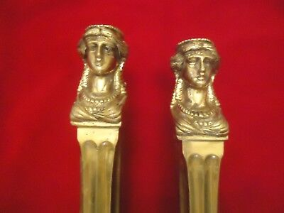 Antique Vintage Cast Brass Sink Legs, Sherle Wagner? Neoclassical Style