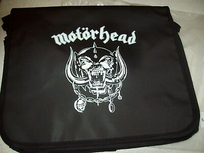 Motörhead-Skull Messenger Bag-Neu!new!mit Folie!the Wörld Is Ours Tournee 2011!!