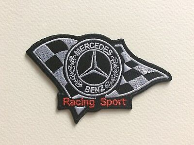 A083 Patch Ecusson Mercedes Benz 10,5*6,5 Cm