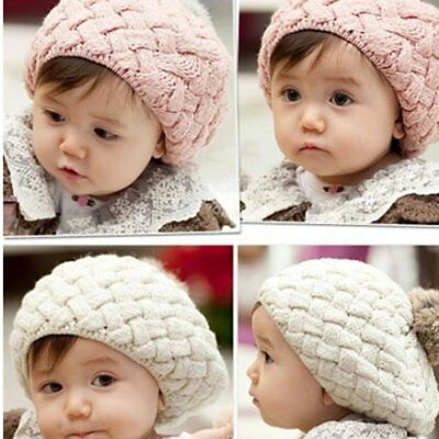 Children Winter Hat For Girls Hat Knitted Beanies Cap Brand Thick Baby Cap NP