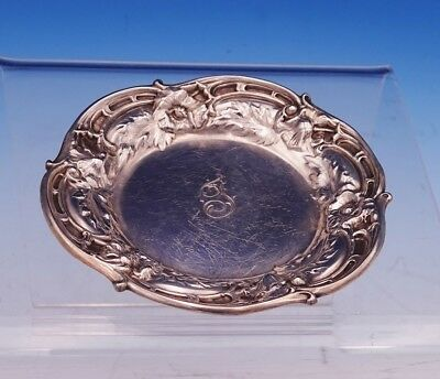 Les Six Fleurs by Reed and Barton Sterling Silver Butter Pat #N478 (#3077)