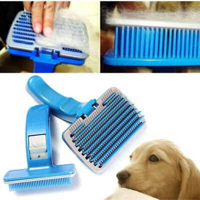 US Pet Dog Cat Grooming Cleaning Removal  Brush Comb Shedding Grooming Hair Fur