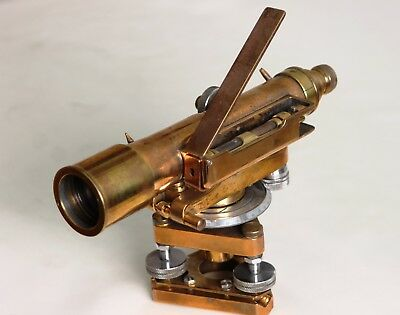 Vintage Hilger And Watts Watts Antique Level