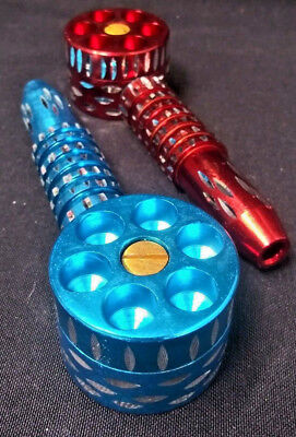 Six Shooter Metal Pipe Assorted colors