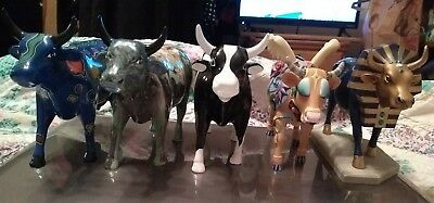 Vintage Retired Cow Parade Lot