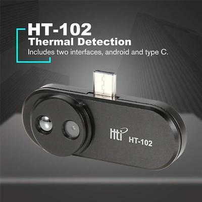HT-102 Mobile Phone Thermal Infrared Imager Video Pictures Record Android Type-c